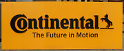 Large Aluminum Continental The Future In Motion Business Sign 102 Wide 30 High