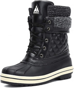 Menand039s Womenand039s Snow Boots Outdoor Warm Mid-calf Booties Anti-skid Water...