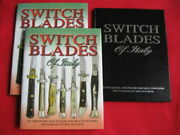 Switchblade Knife Book Switchblades Of Italy Rare Limited Leather Edition Signed