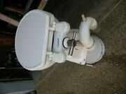 Galley Maid Delta Marine Head With Fiberglass Base. Seat Included.andnbsp