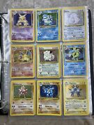 Pokemon Cards Complete Set Of Base Jungle And Fossil Sets