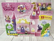 Fisher Price Disney Princess Musical Dancing Palace Castle By Little People New
