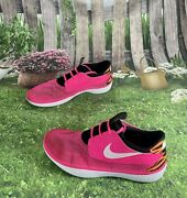 Nike Solarsoft Size 11 Men's Athletic Shoes Moccasin Pink Mesh 555301-618