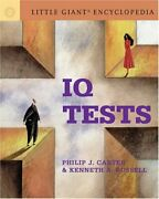 Little Giant Encyclopedia Iq Tests By Philip J. Carter And Kenneth A. Russell New