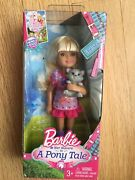 New Barbie And Her Sisters In A Pony Tale Chelsea Doll With Cat