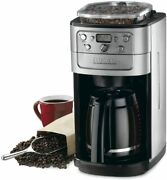 Cuisinart Burr Grind And Brew 12 Cup Automatic Coffee Maker New