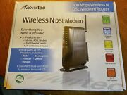 Actiontec Wireless N Dsl Modem/router Gt784wn-01, New, Sealed.