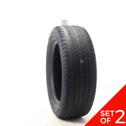 Set Of 2 Used 235/60r17 Michelin Primacy Mxv4 100t - 5-6.5/32