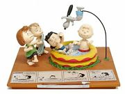 Hm Peanuts Gallery He's Your Dog Charlie Brown 2018 Collectible Figurine