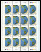 Canada Stamp Sheet1902 - The Western Hemisphere As If Alone On The Globe 20...