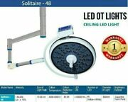 Single Led Ot Solitaire 48 Sterilizable Handle For Moving Dome Examination Light