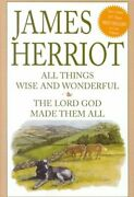 All Things Wise And Wonderful/ Lord God Made Them All By James Herriot Brand New