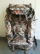 Redhead Rh5000 External Frame Pack Combo Hiking Hunting Backpack Camo Large