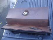 1970 1971 1972 Olds Cutlass Supreme Red Glove Box Door And Hinge And Lock No Key Gm
