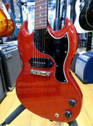 Gibson Sg Junior 203710424 Electric Guitar W/hard Case Ships Safely From Japan