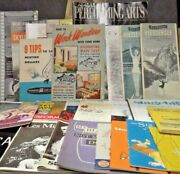 Ephemera Lot - Just Huge - Mostly Playbills Travel Brochures 40and039s To 60and039s