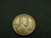 1933 Vf Old Lincoln Wheat Cent Us Coin Semi Key Date