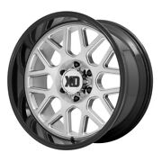 Xd Series Xd849 Grenade 2 20x10 5x127 Et-18 Brushed Milled/gloss Blk Qty Of 4