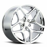 Factory Reproductions Fr 27f Z28 Camaro 20x11 5x120 Offset 43 Chrome Qty Of 4