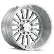 Cali Off-road Summit 9110 24x14 5x127 Et-76 Brushed And Clear Coated Qty Of 4