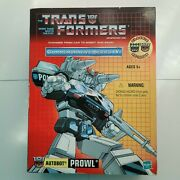 Hasbro Transformers G1 Commemorative Series Iv Prowl Re-issue