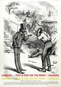 Politics American Indian Government Policies Explained Nig 1870s Antique Print