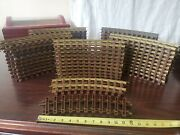 Lionel Curved 0.15 G Gauge Train Track 53 Pcs Made In Usa