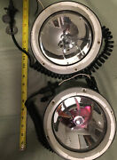 Vintage Original Marine Boat Spot Lights 2 The Guest Corp And Shipwright