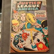 Justice League Of America 29 Good Condition Intro Starman 1st Crime Syndicate