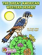 Great American Western Desert Coloring Book By Cathy Jean Robertson Brand New