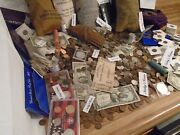 Estate Lot Sale-old Coins Gold Bullion .999 Silver Treasure Collection Hoard
