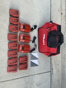 Bundle Of Hilti Tools New Open Box Except Circular Saw Used Ones And Bags