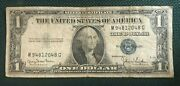 1935 D Silver Dollar Certificate Blue Seal M94812048g Circulated