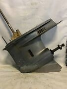 Yamaha Outboard V6 2 Stroke Carb Hpdi Ox66 Lower Unit Gearcase 25andrdquo Rh