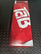 Tab 12 Pack Cola Soda Pop 12oz Cans, New Collectible Discontinued In Hand