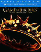 Game Of Thrones The Complete Second Season Blu-ray/dvd Combo + Digital Copy D
