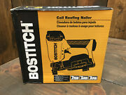 Bostitch Rn46-1 3/4 To 1-3/4 15 Deg. Coil Roofing Nailer Brand New Sealed