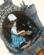 Franklin Mint The Wizard Of Oz Collectible Egg Wicked Witch Melts Castle Coa 99