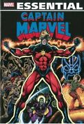 Essential Captain Marvel, Vol. 2 Marvel Essentials By Mike Friedrich And Marv