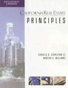 California Real Estate Principles By Charles Stapleton And Martha R. Williams New