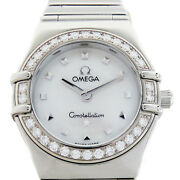 Omega Constellation Watch White Dial Stainless Steel 1465.71