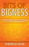 Bits Of Bigness Inspirational Nuggets To Remind You Of By Theresa Rose New