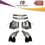 14358blk Corsa 304 Ss Axle-back Exhaust System Quad Rear For Cadillac Cts 16-19