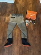Simms G3 Guide Gore-tex Pants Waders. Size Medium King. Mk. Made In Usa.