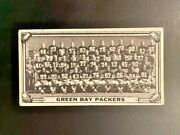 1968 Topps Test Teams 1 Green Bay Packers Ultra Rare Card Look