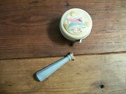 Antique Celluloid Baby Rattle 1940 - Abc - Some Damage