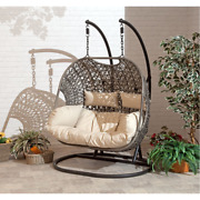 Hanging Cocoon 2 Person Swing Chair