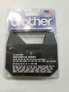 2 Pack Brother Black Typewriter Film Ribbon 1230 Brother Ax Series 5/16 X 525and039