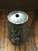 Thimble Pewter Little Jack Horner Top Of Pie Opens