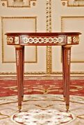 French Oval Table Louis Seize Style